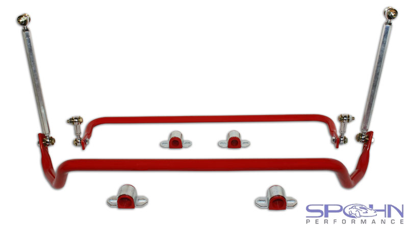 Spohn Front & Rear Tubular Sway Bars Set - 2010+ Chevrolet Camar