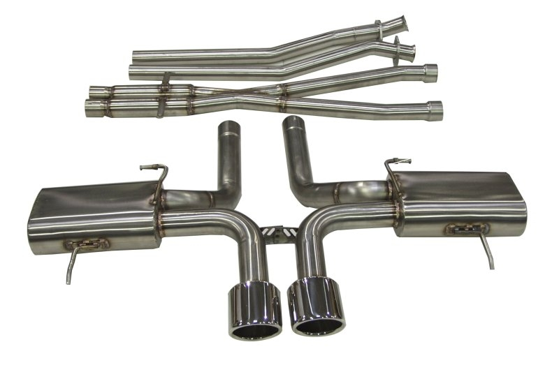 B&B 2011 - CTS-V Coupe 2011- EXHAUST 5.25