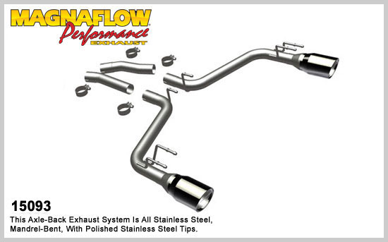 Magnaflow 2010 Camaro V8 Axle-Back Exhaust COMPETITION